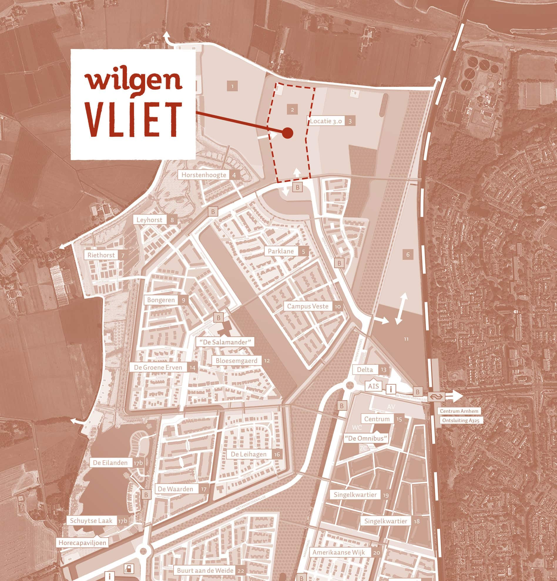 Wilgenvliet, Arnhem Schuytgraaf